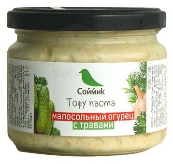 Соймик Тофу-паста Малосольный огурец с травами , 300 г