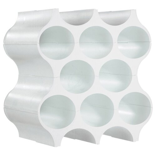 Подставка Koziol SET-UP BOTTLE RACK COTTON белый