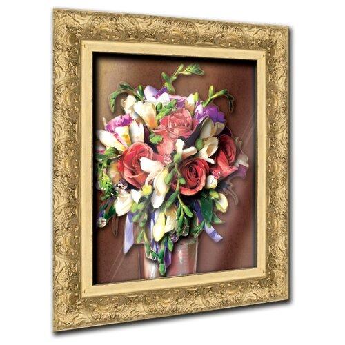 Vizzle Объемная картина Ваза с цветами 0188