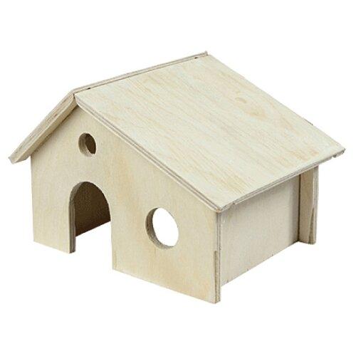 Домик для грызунов Дарэлл 8551 17х13х9.5 см деревянный