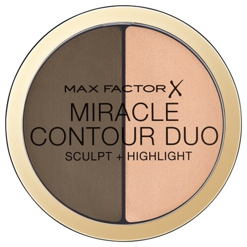 Max Factor Палетка для контуринга Miracle Contour Duo Sculpt and Highlight medium deep max factor miracle prep pore minimising mattifying primer