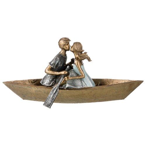 Фото - Статуэтка влюбленные Lefard 31*12*14,5 см серия Фьюжн (162-748) статуэтка lefard йога серия фьюжн 13 5х7х18 5 см 162 700