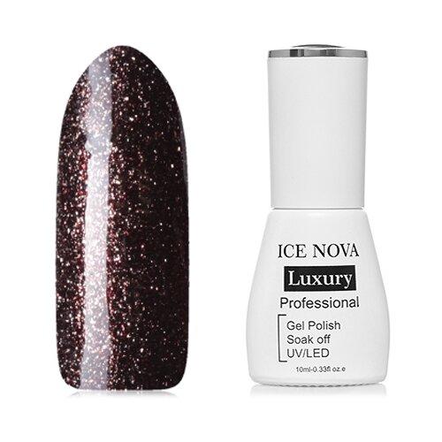Гель-лак для ногтей ICE NOVA Luxury Professional Shiny Diamond Gel, 10 мл, оттенок №12 chi luxury black seed oil curl defining cream gel