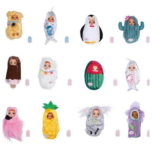 Кукла-сюрприз BABY born Surprise Babies 3 серия, 11 см, 904-398, Zapf Creation, Куклы и пупсы  - купить со скидкой