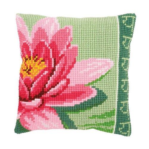 Купить Vervaco Набор для вышивания Кувшинка розовая 40 х 40 см (0156008-PN), Наборы для вышивания