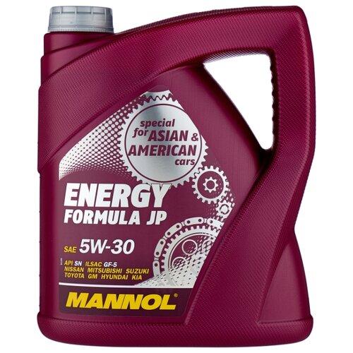 Моторное масло Mannol Energy Formula JP 5W-30 4 л моторное масло mannol energy formula pd 5w 40 1 л