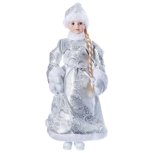 Фигурка SNOWMEN Снегурочка 46 см (Е96411) серебристый фигурка snowmen мышка 62 см