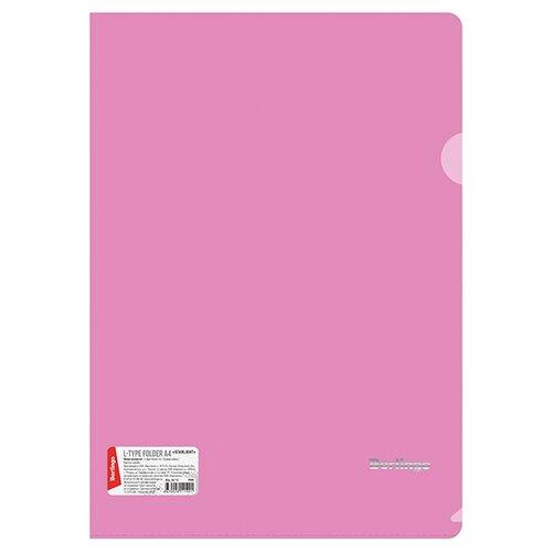 Berlingo Папка-уголок Starlight А4, пластик розовый папка уголок hatber monster high дракулаура цвет черный розовый формат а4