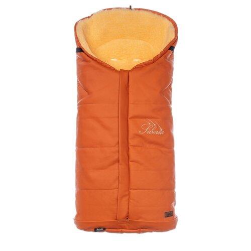 Купить Конверт-мешок Nuovita Siberia Lux Pesco меховой 90 см оранжевый, Конверты и спальные мешки