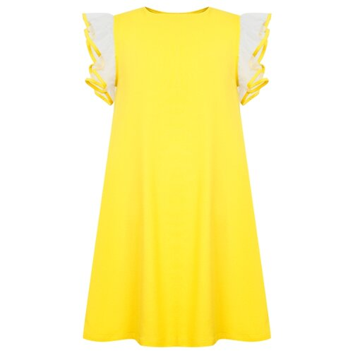 Платье Il Gufo размер 116, желтый