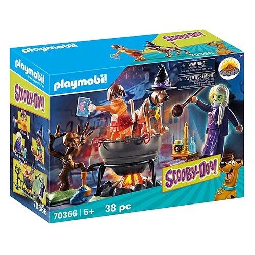 Купить Набор с элементами конструктора Playmobil SCOOBY-DOO! 70366 Ведьминский котел, Конструкторы