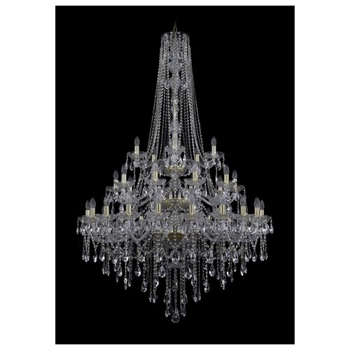 Фото - Люстра Bohemia Ivele Crystal 1415 1415/20+10+5/400/h-182/3d/G, E14, 1400 Вт люстра bohemia ivele crystal 1415 1415 20 10 5 400 xl 180 3d g e14 1400 вт