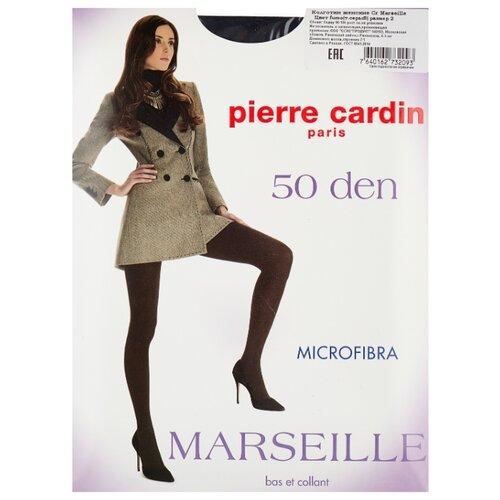 Колготки Pierre Cardin Marseille, Basic Line 50 den, размер II-S, fumo (серый)