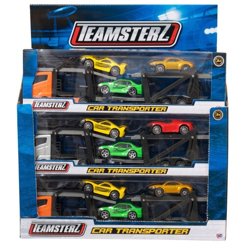Купить Игровой набор для детей Teamsterz Автоперевозчик , HTI, Машинки и техника