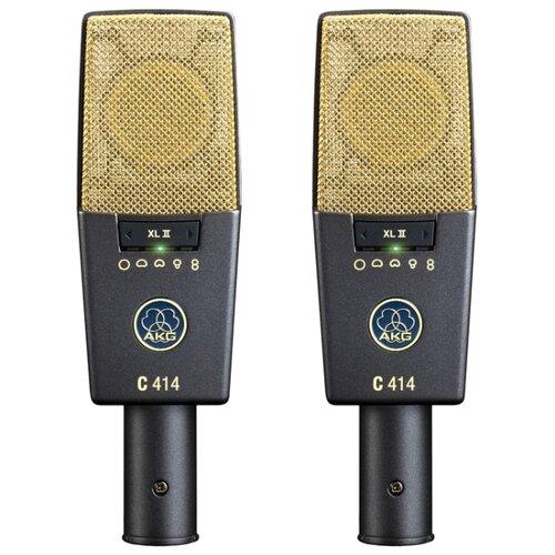 Комплект микрофонов AKG C414XLII/ST, черный