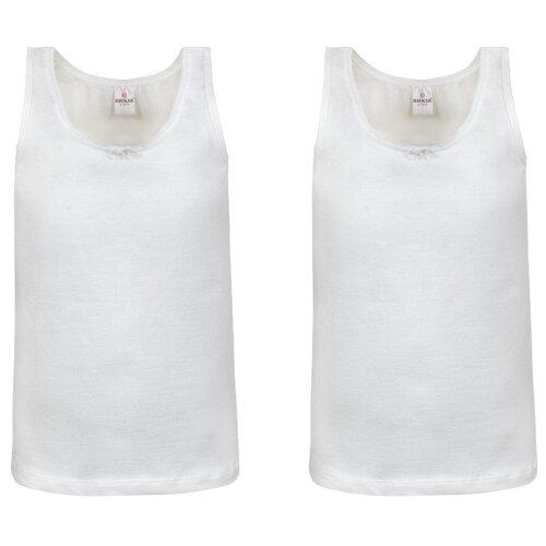 Купить Майка BAYKAR 2 шт., размер 158/164, белый, Белье и купальники