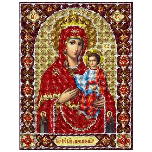 Купить Набор Богородица Самонаписавшаяся 20х26 Паутинка Б-1091, Наборы для вышивания