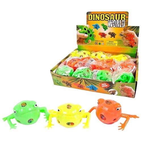 Игрушка-мялка Junfa toys Dinosaur World Лягушка
