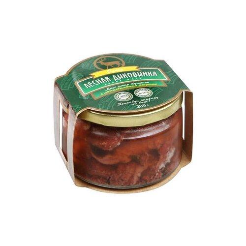 Лесная Диковинка Мясо оленя тушеное с можжевеловыми ягодами 200 г