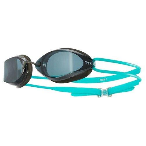 Очки для плавания Tyr Tracer-X Racing Nano LGTRXN, smoke/black/turquoise