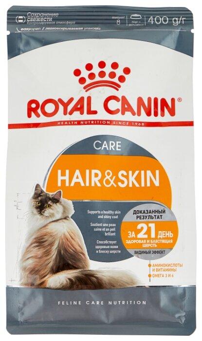 Корм для кошек Royal Canin для здоровья кожи и шерсти 400 г