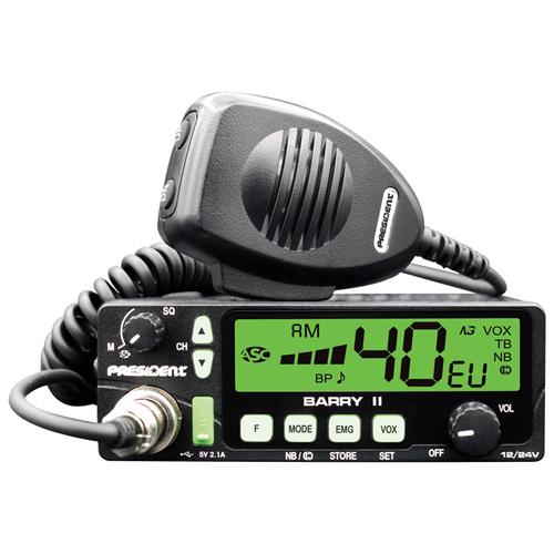 Автомобильная радиостанция President Barry II