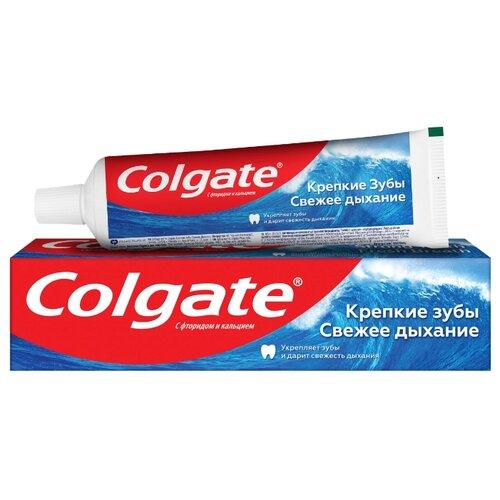 Купить Зубная паста Colgate Крепкие Зубы Свежее Дыхание освежающая, 100 мл