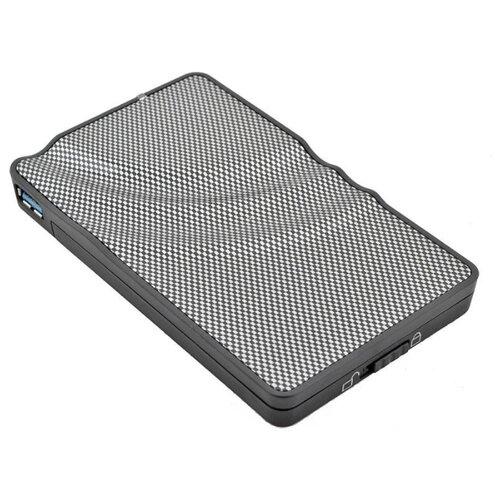 Корпус для HDD/SSD AGESTAR 3UB2P серебристый