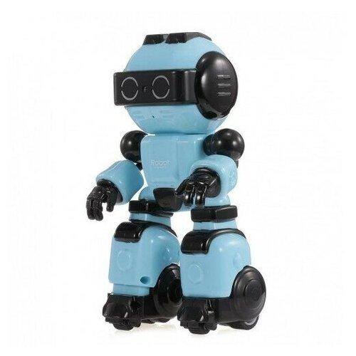 Фото - Радиоуправляемый интерактивный робот Crazon (Синий) радиоуправляемые игрушки 1 toy интерактивный радиоуправляемый щенок робот дружок