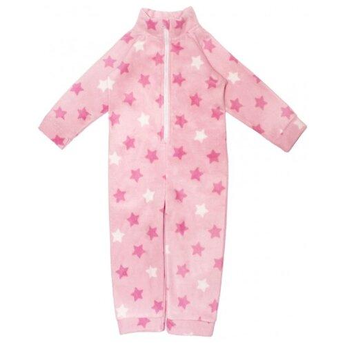 Фото - Комбинезон Веселый Малыш 352/271 звезды, размер 74, розовый комбинезон веселый малыш размер 74 серый