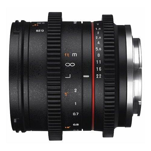 Фото - Объектив Samyang 21mm T1.5 ED AS UMC CS Fujifilm X объектив samyang 85mm f 1 8 ed umc cs fujifilm x