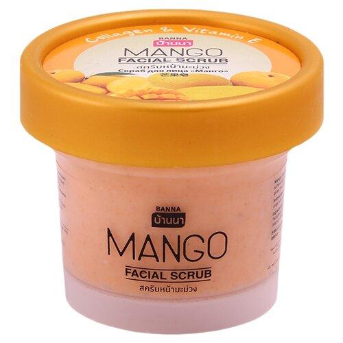 Banna скраб для лица Facial Scrub Манго 100 мл