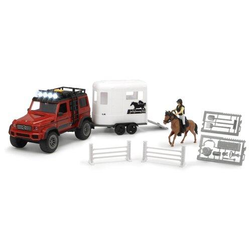 Игровой набор Dickie Toys Перевозка лошадей 3838002
