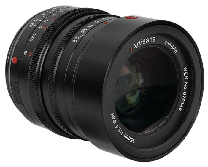 Объектив 7artisans 35mm f/1.4 Leica M