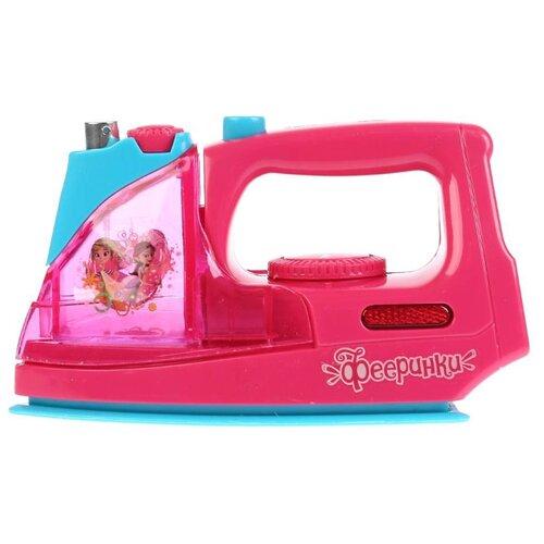 Купить Утюг Играем вместе Фееринки B1452810-R1 розовый, Детские кухни и бытовая техника