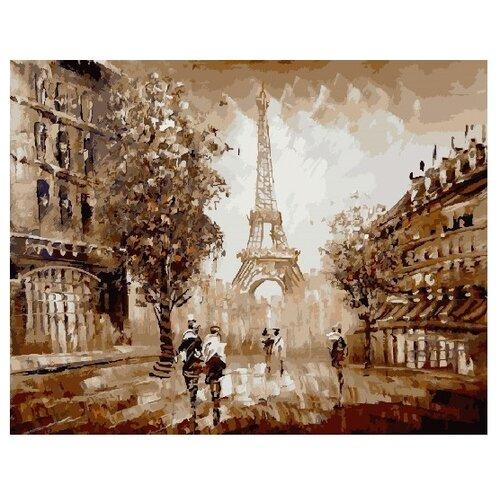 ВанГогВоМне Картина по номерам Прогулки по Парижу, 40х50 см (ZX 21695) вангогвомне картина по номерам осенний вальс 40х50 см zx 21314