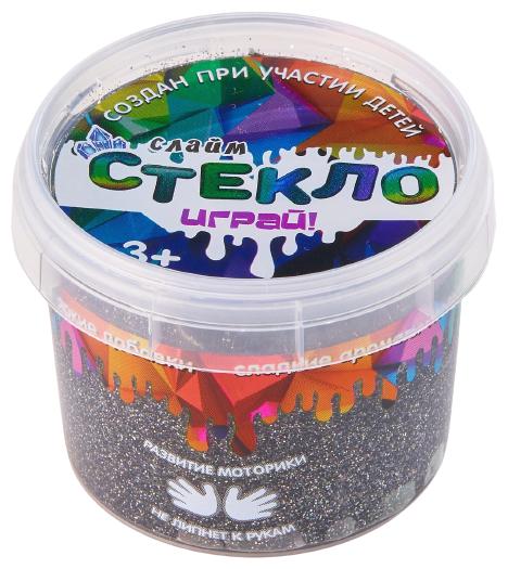 Купить Лизун Слайм Стекло Party Slime M металлик по низкой цене с доставкой из Яндекс.Маркета