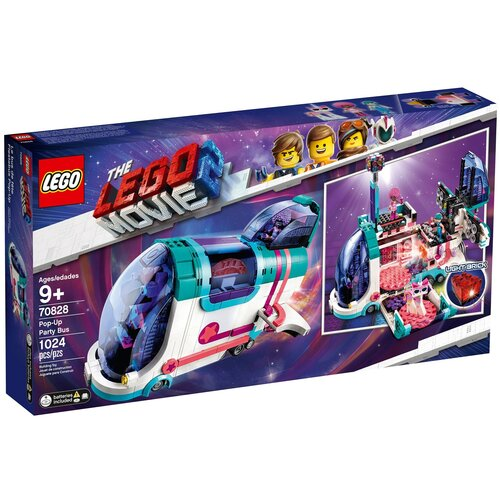 lego Конструктор LEGO The LEGO Movie 70828 Автобус для вечеринки