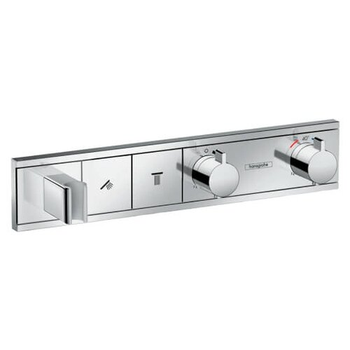 Фото - Термостат для ванны Hansgrohe RainSelect 15355000 термостат для ванны hansgrohe rainselect 15356400