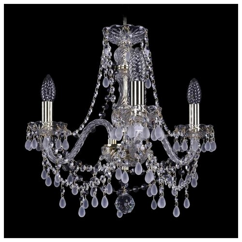Люстра Bohemia Ivele Crystal 1410 1410/3/160/G/V0300, E14, 120 Вт bohemia ivele crystal 1410 6 160 ni v0300 sh2