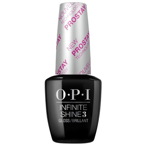 OPI верхнее покрытие Infinite Shine Gloss Top Coat 15 мл прозрачный opi верхнее покрытие top coat 15 мл бесцветный