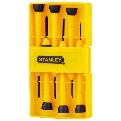 Набор отверток STANLEY (6 предм.) 0-66-052 набор отверток stanley essential 10 шт