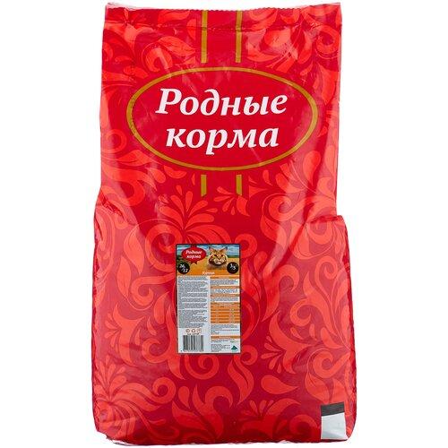 Сухой корм для кошек Родные корма с курицей 10 кг
