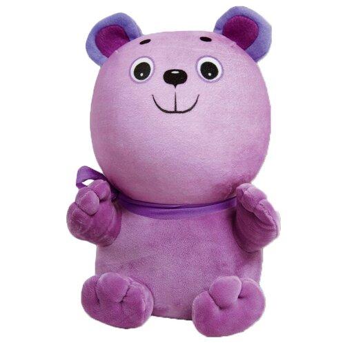 Купить Мягкая игрушка Штучки, к которым тянутся ручки Мишка Винни сиреневый 28 см, Мягкие игрушки