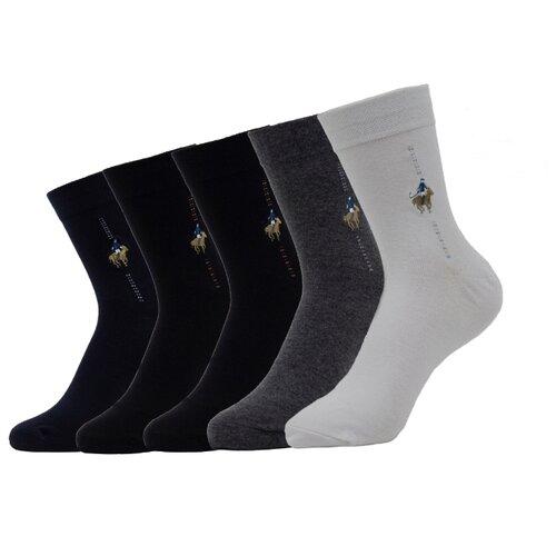 Носки AFH AFH-N-01008/ST, 5 пар, размер 38/44, разноцветные