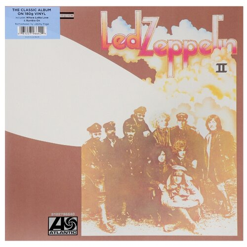 Led Zeppelin. Led Zeppelin II. Remastered Original (LP) цена 2017