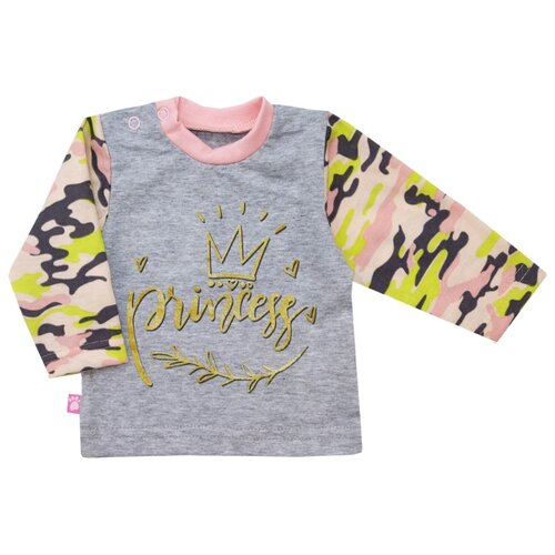 Купить Лонгслив KotMarKot размер 80, розовый, Футболки и рубашки