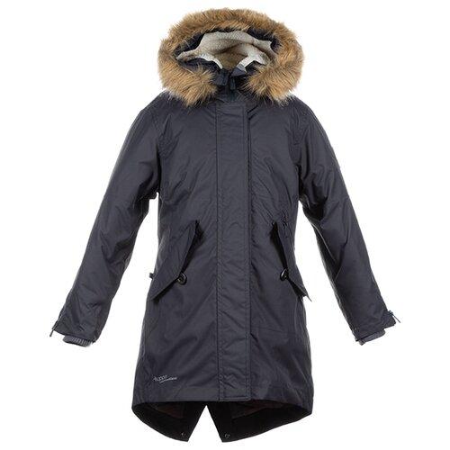 Пальто Huppa Vivian размер 116, тёмно-серый пальто huppa vivian размер 152 70002 yellow