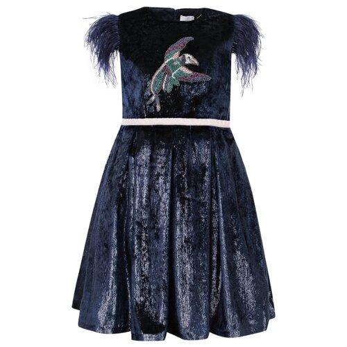 Платье EIRENE размер 146, синий платье eirene размер 170 черный желтый красный