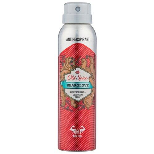 Дезодорант-антиперспирант спрей Old Spice Bearglove, 150 мл антиперспирант аэрозольный odor blocker old spice 150 мл